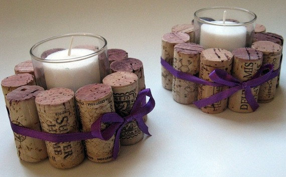 Inspiration treasures diy wine cork crafts for winos for Crafts with wine bottle corks